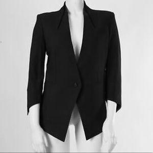EUC - Helmut Lang Sharp Slim flit black blazer